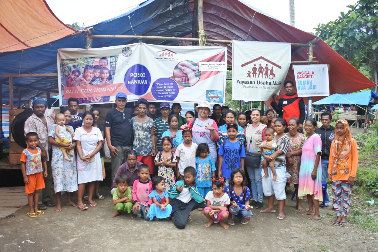 YUM, with the help of Global Giving, Susila Dharma Organizations, and individual donors were able to provide emergency relief packages to over 2,500 families in more than 17 villages.